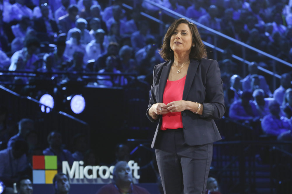 Gavriella Schuster, corporate vice president of One Commercial Partner, at Microsoft Inspire 2019.